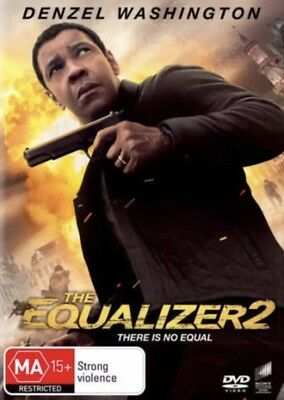The Equalizer 2 Dvd New & Sealed- Free Postage! Region 4