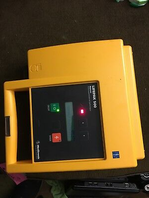 Physio Control Medtronic LifePak 500 tested and working with Battery