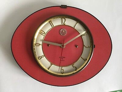 1950s wall clock collectable vintage