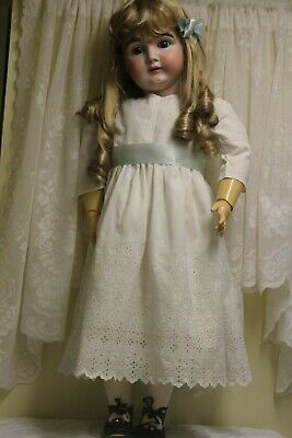"Beautiful 32"" Antique Kestner Bisque Doll ""164"" Made in Germany"