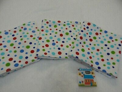 Burp Cloth Blue Bazooples Sweet Dreams 1 Only Toweling Back GREAT GIFT IDEA!!