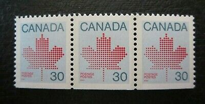 CANADA STAMPS  #923bs 1982 1ST CLASS DEFINITIVE STRIP OF 3  LOWER