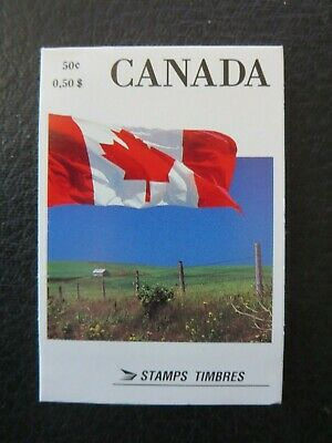 "Canada Stamps  #bk111 1990  ""canada Flag"" Booklet Sealed"