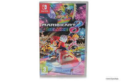 Mario Kart 8 Deluxe Nintendo Switch BRAND NEW SEALED UK SELLER