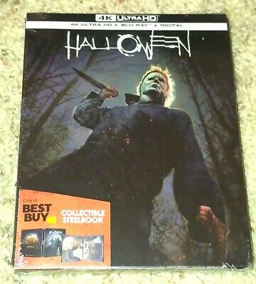 Halloween 2018 4K Ultra HD UHD Digital Blu-Ray Steelbook Best Buy BRAND NEW MINT