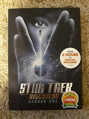 Star Trek Discovery: The Complete First Season 1  DVD USA SELLER