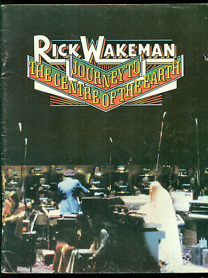 RICK WAKEMAN Journey To the Centre of the Earth - YES songbook sheet music book