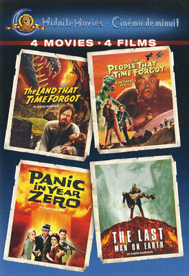 The Land That Time Forgot ...... The Last Man On Earth (4 Movies) (Bilingu (Dvd)