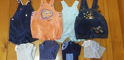 Baby sets - Size 00 - 8 items - Overalls and Tops
