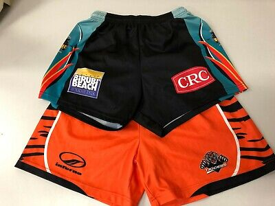 2 x pairs of touch footy shorts LARGE football