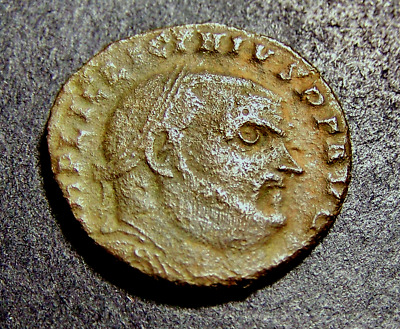 LICINIUS I w/ Jupiter, Eagle, & NIKE, Antioch, Syria, RARE Imperial Roman Coin