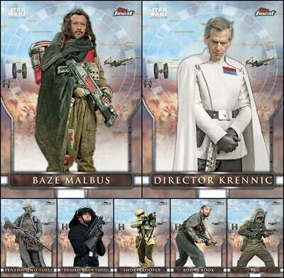 Topps Star Wars Card Trader FINEST SELECTS 2019 Rogue One [7 CARD SET] Krennic+