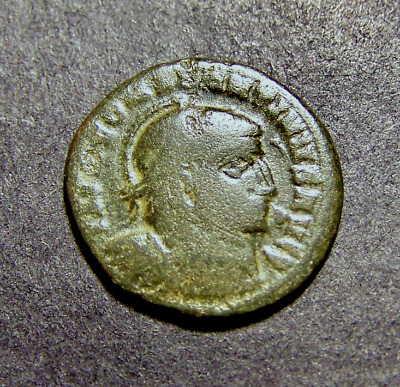 CONSTANTINE I, Victories @ Altar, Very RARE Imperial Roman Emperor Coin