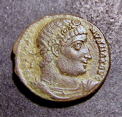 CONSTANTINE I, Rome's Legions/Soldiers/Spears, Antioch, Syria Roman Emperor Coin