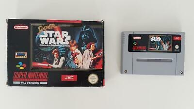 Super Star Wars (Boxed) SNES Used SAME DAY FREE SHIPPING