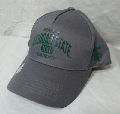 d7037c4394c6c MICHIGAN STATE SPARTANS   NEW Men s OSFM Cap   NWT Hat One Size Fits Most  MSU