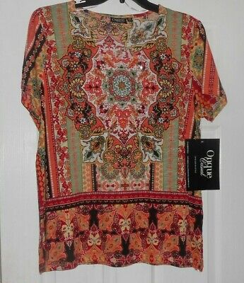 5f22ad95af8 NWT Women s Onque Plus Size 1X Top Shirt Blouse Embellished Casual Work  Clothes