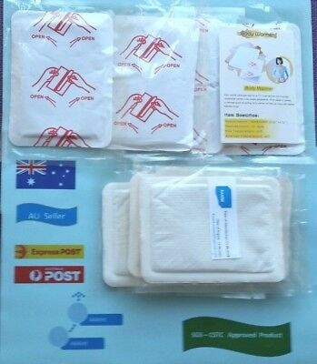 Adhesive Body Warmer Patch 12 Hours - 13cm x 9.5cm ( 8 Pack) (ByExpress Post)