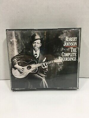 The Complete Recordings by Robert Johnson (CD, Oct-1996, 2 Discs,...