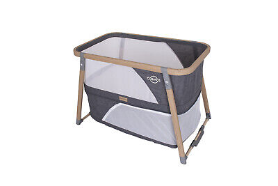 Love N Care Cosmos 3-in 1 Baby Bassinet Crib Charcoal