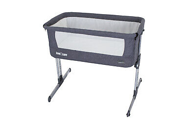 Love N Care By My Side CoSleeper Baby Co Sleeping Bassinet Gray
