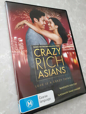 Crazy Rich Asians DVD *NEW RELEASE* Henry Golding Constance Wu VGC Comedy Movie