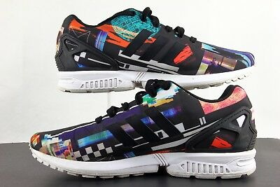 fea187a05 ADIDAS ZX FLUX Torsion multicolor Men s Running shoe Size 8 S81604 ...