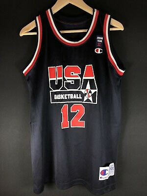 1994 Champion Dominique Wilkins M Dream Team NBA Trikot Basketball Jersey Jordan