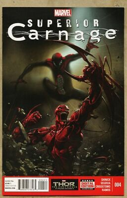 Superior Carnage #4-2013-nm 9.4 Clayton Crain Frightful Four Spider-Man Otto