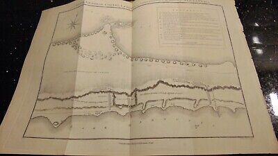 1803 Plan Of Major General Coote's Landing & Operations Alexandria