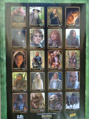 Lord Of The Rings - The fellowship of the Ring - Card Collection