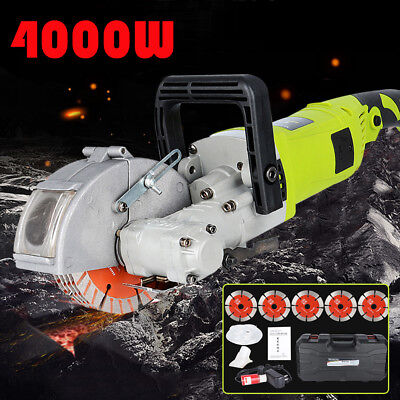 4000W Electric Wall Chaser Groove Cutting Cutter Wall Chaser Saw Slotter 33mm UK