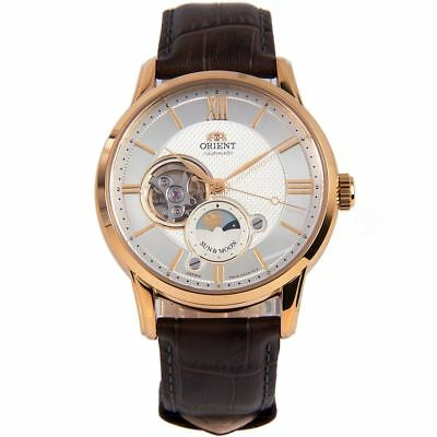 RA-AS0003S00B RA-AS0003S Orient Sun Moon Automatic Analog Male Casual Watch