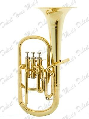 Stagg Bb Three Valve Baritone Horn Brass Body Clear Lacquer Finish Fast Postage Brass Musical Instruments & Gear