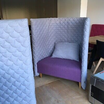 2x Naughtone Cloud Booths Chairs