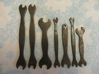 Vintage 'Terry's' spanners x 7, collectable hand tools