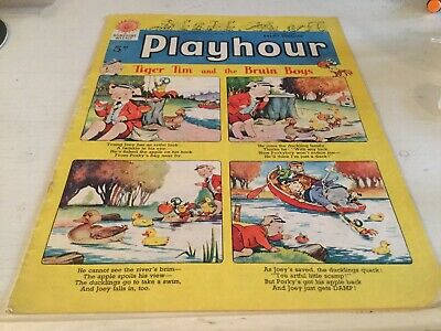 60th BIRTHDAY GIFT PLAYHOUR COMIC 1959 Vgc