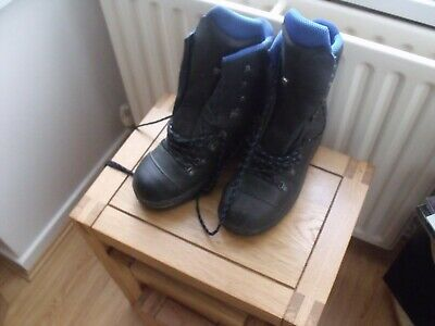 Haix Blue Ridge Chainsaw Boots, UK Size 8. Used but in great condition.