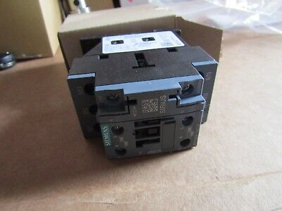 Siemens Sirius Innovation 3RT 3 Pole Contactor 38A 18.5kW 24Vac Coil 5c3 8613351