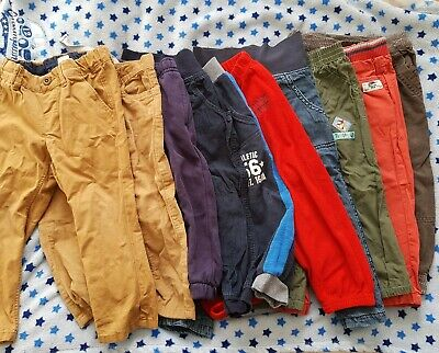 Baby Boy Trousers Bundle 18-24 Months 92cm 10 Pairs