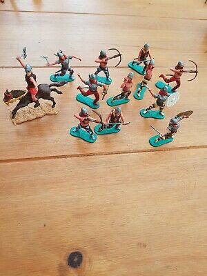 12 x Vintage Timpo Vikings - Standing & mounted