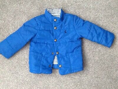 Baby Boy Joules Padded Jacket Age 12-18m