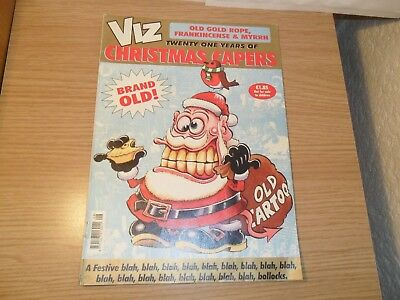 Viz comic - Old Gold Rope -Frankincense & Myrrh Christmas Capers - Adults Only.