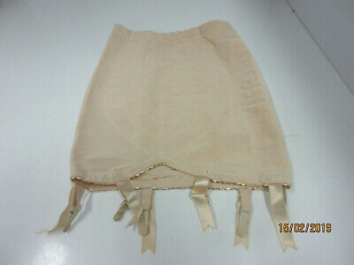 Vtg. New Vanity Fair Girdle W/6 Garters Open Bottom Size M Style 51-015 Usa