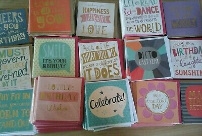 50 Just Say Cards, Wholesale Joblot Greeting Cards