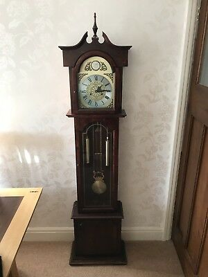 Longcase Grandfather. C Wood And Son.