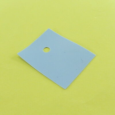 42 x 29 x 0.3mm TO-3 Oval Silicone Pad Thermal Conduction Transistor Boot