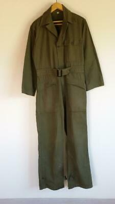 Vintage WWII U.S. Army 13 Star Mechanics HBT Uniform Coveralls Jumpsuit 36R