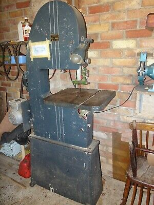 Bandsaw A Cooksley And Co Ltd A.tav .75Kw Motor 240 Volt