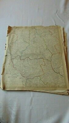 A Collection Of 19Th Century Maps On Yorkshire